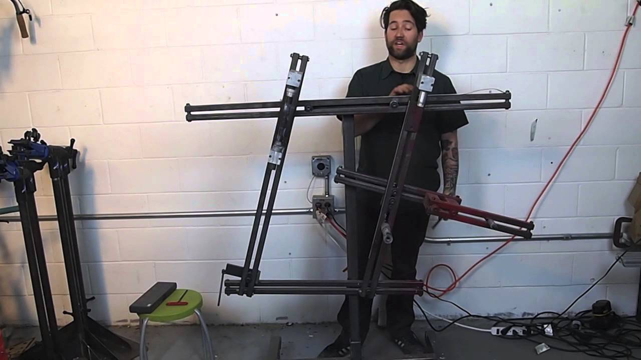 Setting The Frame Jig Build Your Own Bicycle At Artisans Asylum