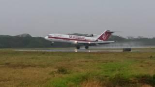 boeing 727 200 hk4544 aerosucre aterrizaje yopal skyp