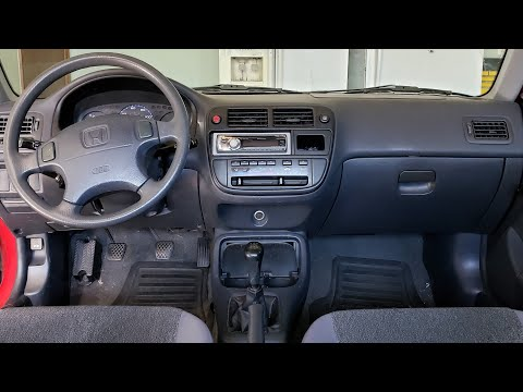 How To Remove Lower Dash On Honda Civic 1996-2000