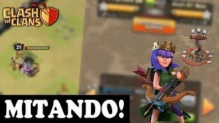 RAINHA ARQUEIRA MITOU NESSE ATAQUE!!! - Clash Of Clans