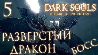 Прохождение Dark Souls Prepare To Die Edition  — Часть 5: БОСС 4: РАЗВЕРСТЫЙ ДРАКОН