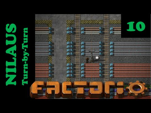 Lets Play Factorio S2E10 - Tracks to first Oil bases