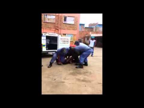 Kempton Park police assault Nigerian man