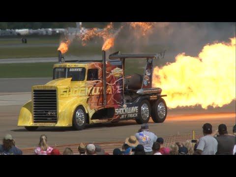 2015 NAS Oceana Airshow - Shockwave Jet Truck