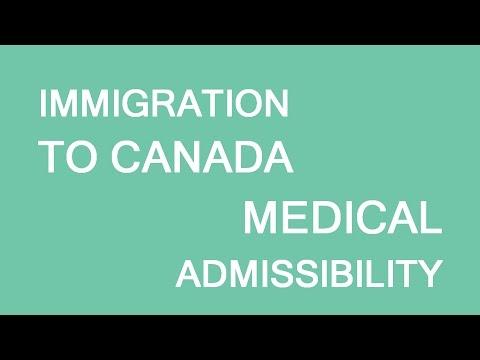 Medical Admissibility Canada