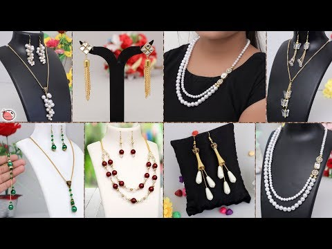 7 Handmade Jewelry Making !!! Necklace, Earrings
