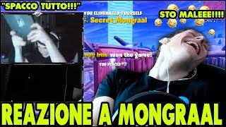 REACTION to MONGRAAL's PASSATO! FORTNITE ITA ASSURDO