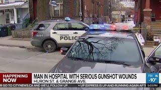 Man shot downtown