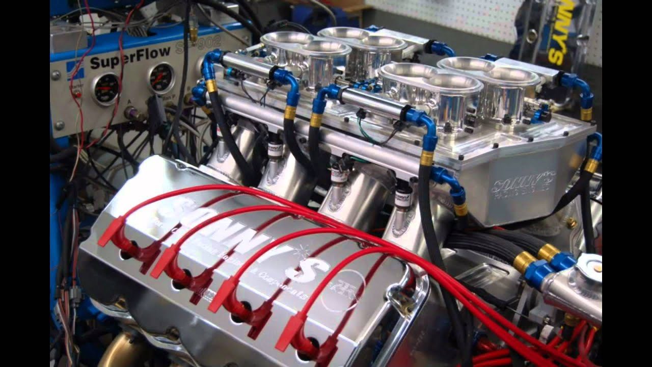 World 39 S First 1000ci Drag Race Engine Sonny 39 S Racing