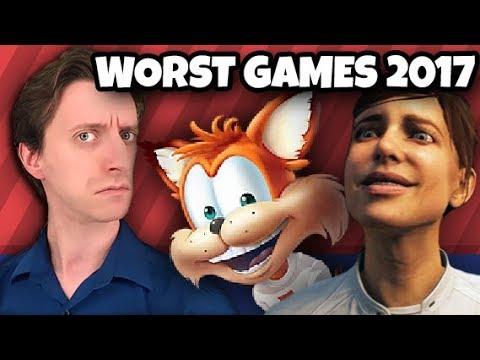 TOP TEN WORST GAMES of 2017 - ProJared