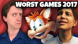 TOP TEN WORST GAMES of 2017 - ProJared