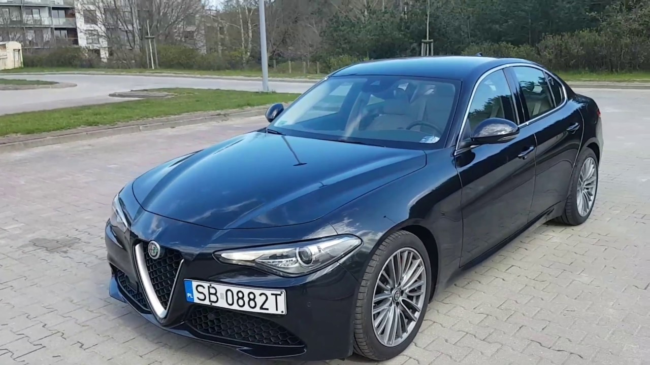 alfa romeo giulia 2 2 diesel 180 onboard review exterior interior youtube. Black Bedroom Furniture Sets. Home Design Ideas