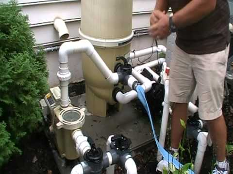 Lowering The Pool S Water Level With A Cartridge Filter