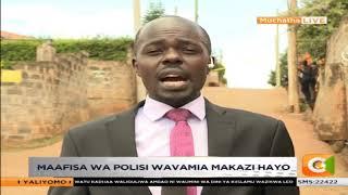 Maafisa wa polisi wavamia maficho ya magaidi wa 14 Riverside huko Muchatha , Ruaka