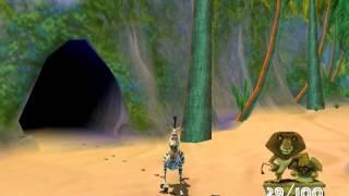 Madagascar Walkthrough PC -  Level 9 - Back to The Beach - HD