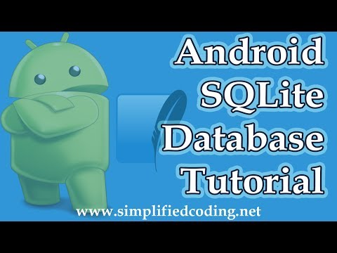 Android SQLite Database Tutorial - Reading And Writing