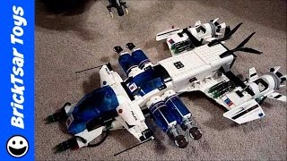 lego space police set 5974 galactic enforcer build and review of operation