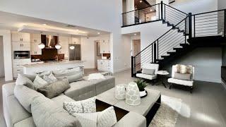 Las Vegas Modern Living $656K | 3824 Sqft, 5BD, 5BA, Game Room, Den, Loggia, 3CR, Cafe, Courtyard