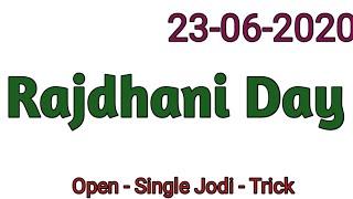 23 June 2020 Rajdhani Day Today,
