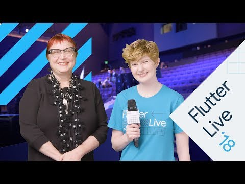 Interview With Shams Zakhour (Flutter Live)