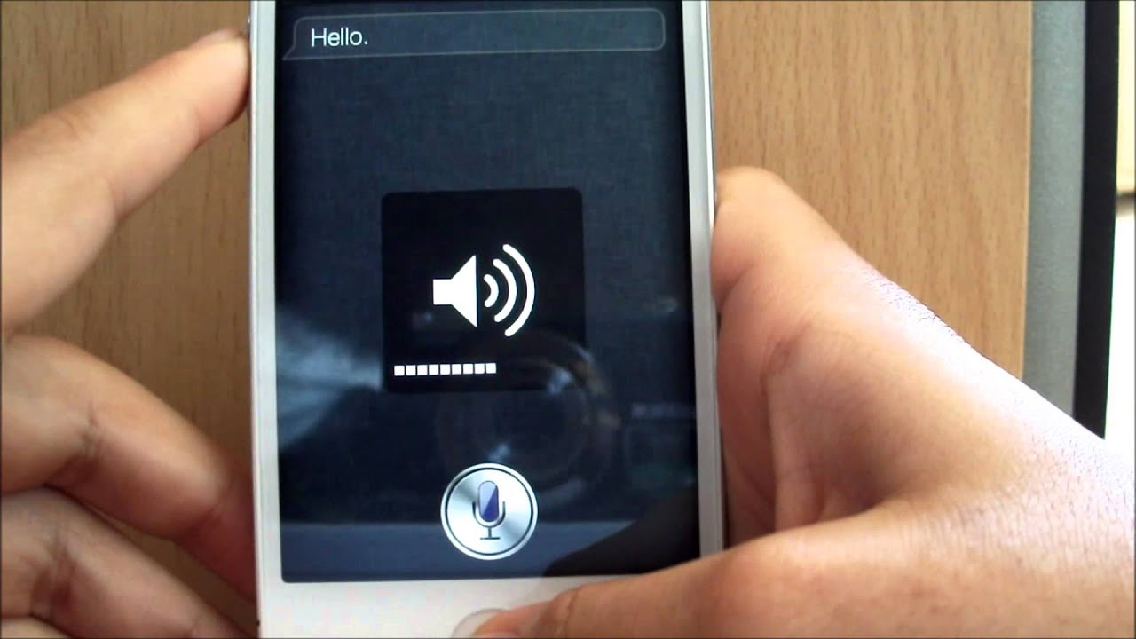 how to change the siri voice