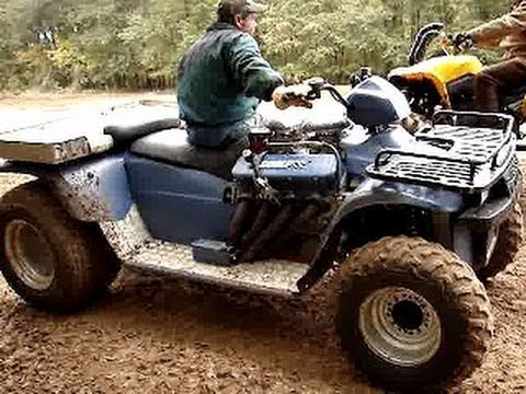 Wicked Fast Polaris 454 V8 Big Block 4wheeler Youtube