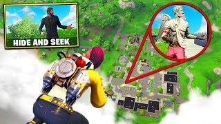 Hide & Seek *WITH JETPACKS* In Fortnite Battle Royale!