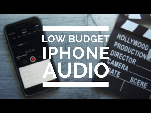 Record Better Audio on a LOW BUDGET Using an IPHONE