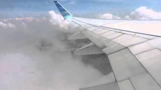 Beranjak naik menembus awan-awan tebal with Garuda Indonesia