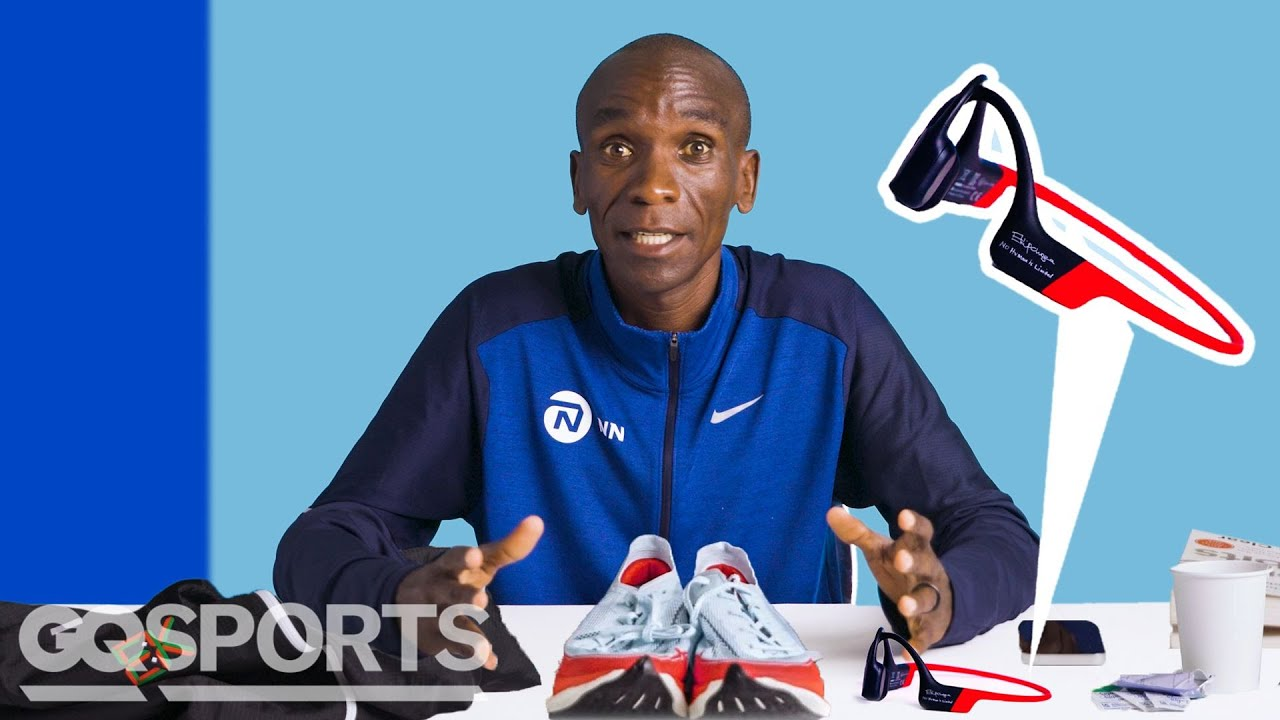 10 Things Marathoner Eliud Kipchoge Can't Live Without   GQ Sports