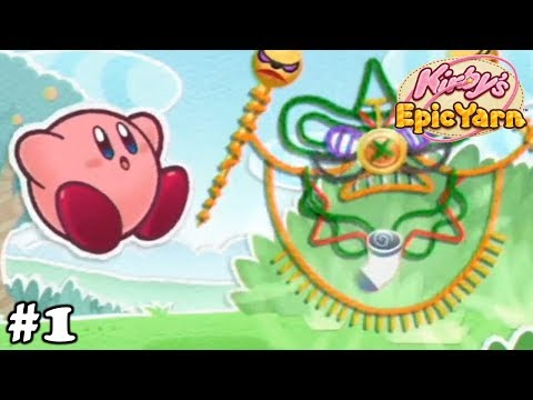 Kirby's Epic Yarn Episode 1 - A Brand New World