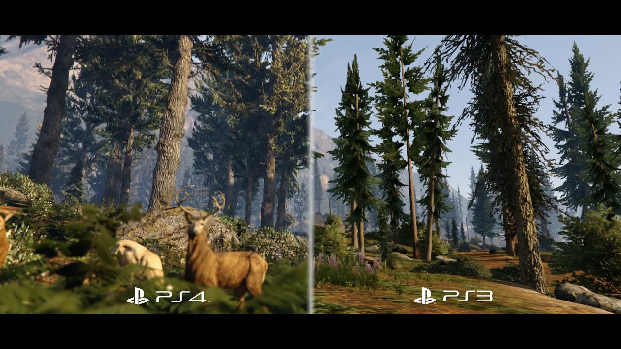 Grand Theft Auto V: PS3 to PS4 Comparison Video - YouTube