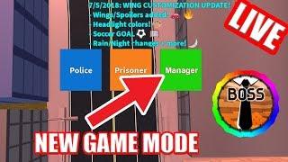 NEW GAME MODE Coming to JAILBREAK!!! | UPDATE SOON!!! | Roblox Jailbreak Live