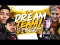 THE DREAM TEAM SQUAD! Ft. Ninja, CouRageJD & C9 Hysteria (Fortnite BR Full Match)