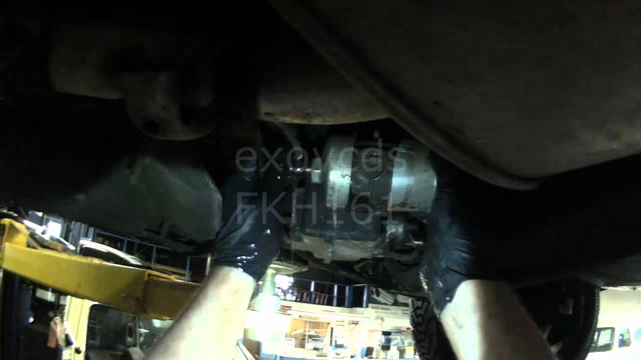vw a2  cis fuel filter removal for checking