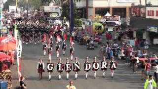 Glendora HS Tartan Band & Pageantry - Scotland the Brave - 2011 Los Angeles County Fair