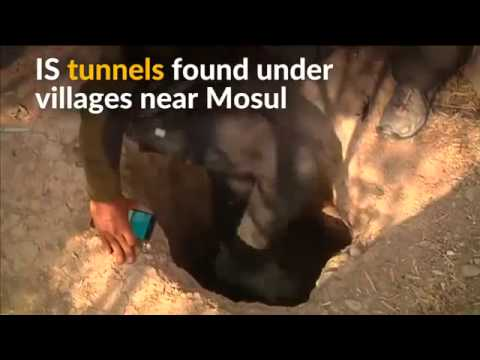 ISIS Builds Tunnels To Escape...