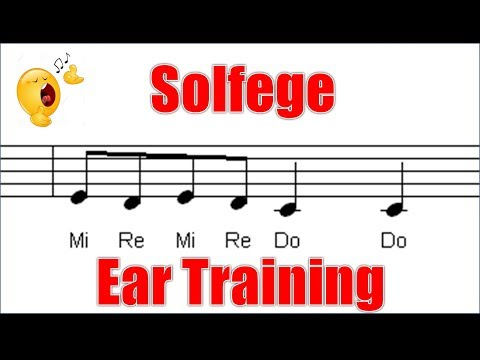 Call and Response Solfege Song 1 of 5 - from Exercises for Ear Triaining