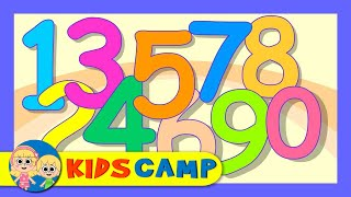 The Numbers Song | Learn To Count from 1 to 10 | Number Rhymes For Children from Kidscamp