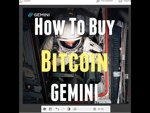 How to buy bitcoin and sell with Gemini Wallet