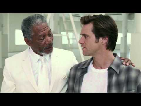 Bruce Almighty - Jim Carrey meets God (HD)