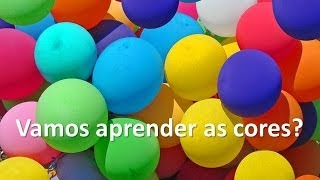 As cores em português para crianças - vamos aprender as cores?