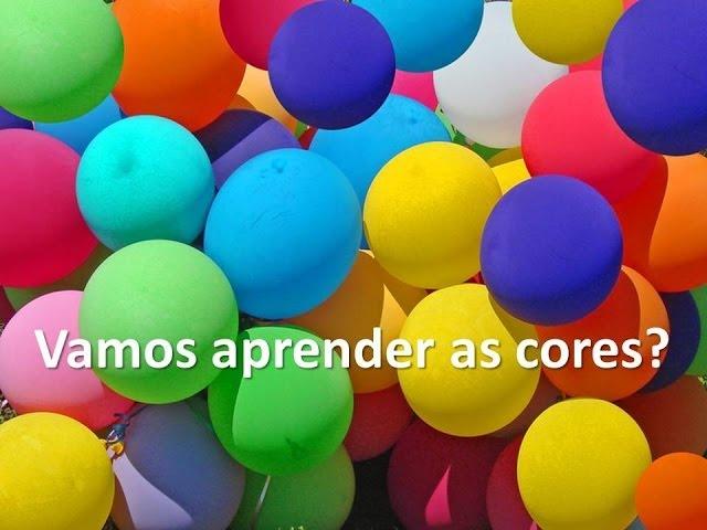 As cores em português para crianças - vamos aprender as cores? Vídeos De Viagens