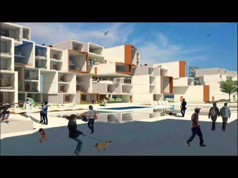 Copia de arquitectura y frente costero conjunto de for Vivienda arquitectura