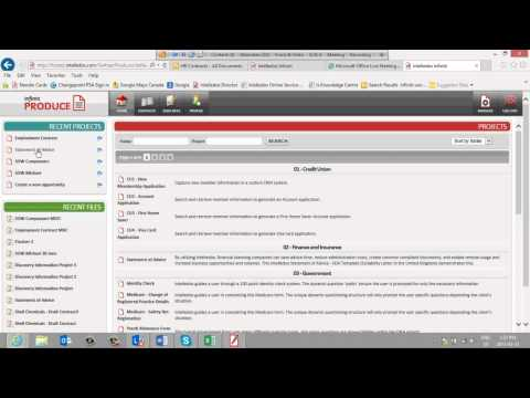 SharePoint Document Automation And E-Forms For Financial Services
