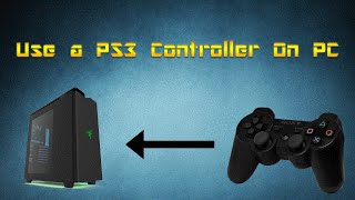 How To Use a PS3 Controller On PC (SCP DS3 Windows 10)