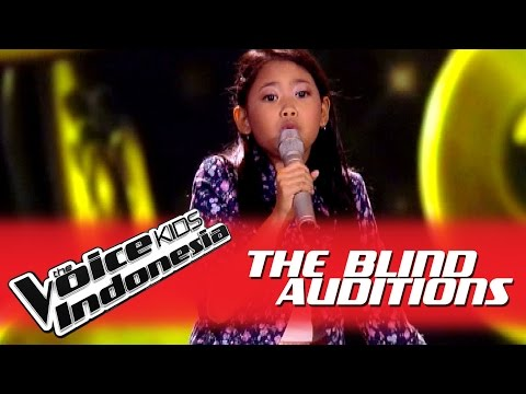 "Anne ""Fly Me To The Moon"" I The Blind Auditions I The Voice Kids Indonesia GlobalTV 2016"