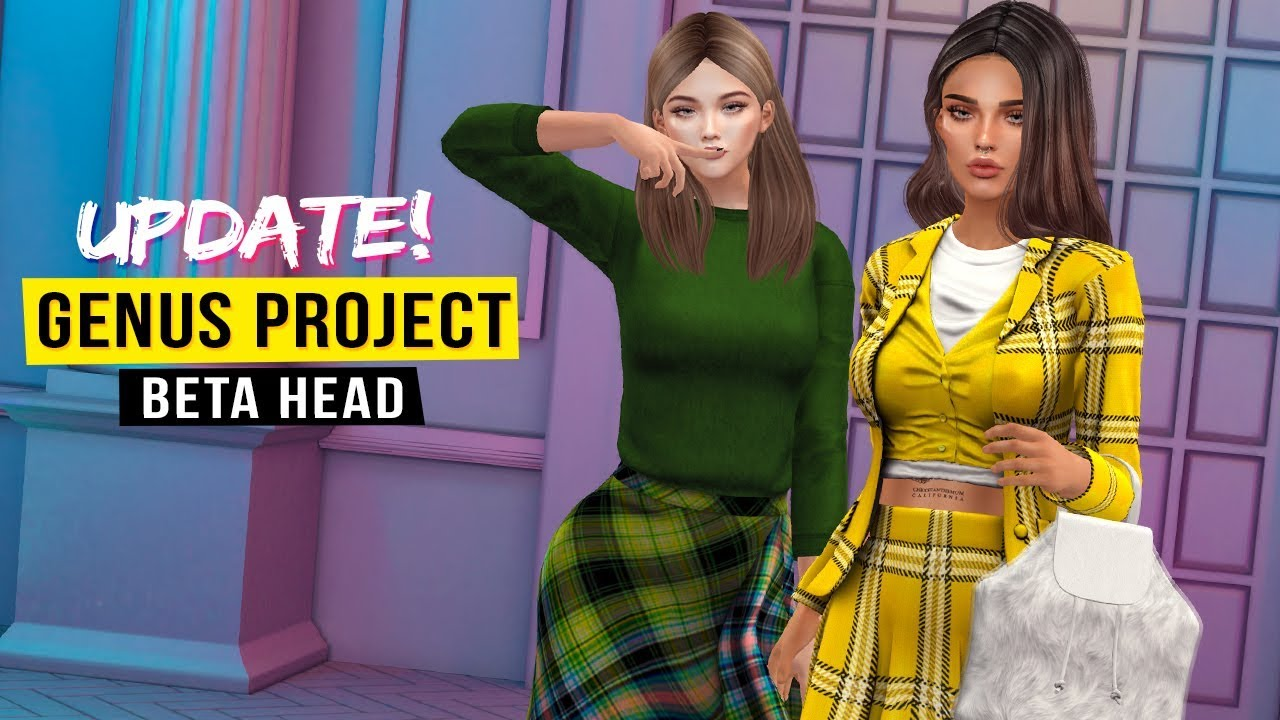 UPDATE! Genus Project bento head - Second Life (beta)