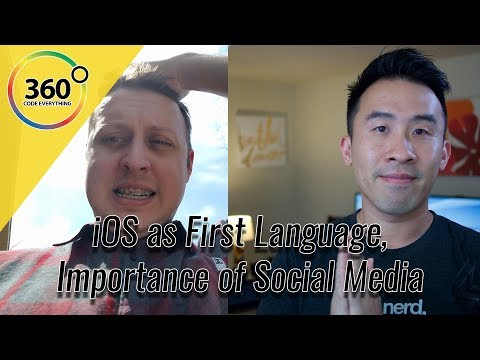 Swift as a First Language? How Important is Social Media? LetsBuildThatApp Interview | Ask a Dev