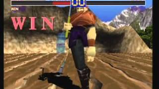 Battle Arena Toshinden Sho Pro Gameplay